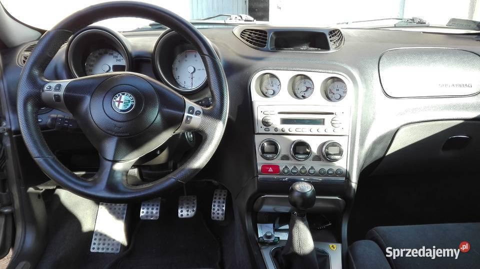 Alfa Romeo 156 Crosswagon środek