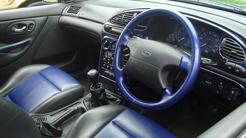 Ford Mondeo ST200 środek