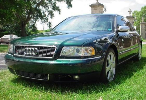 Audi A8, D2, polift