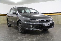 Szary Fiat Marea Weekend Turbo