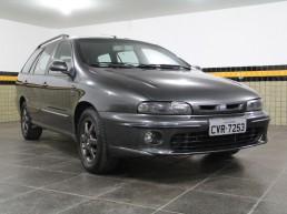 Szary Fiat Marea Weekend Turbo